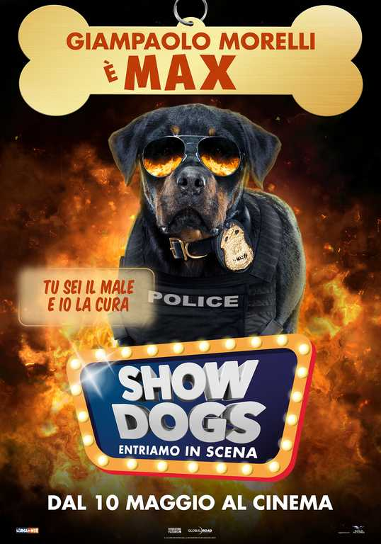 Show Dogs - Entriamo in scena Teaser Character Poster Italia 5_big