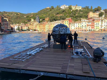 Portofino, l'opera Mondo terracqueo
